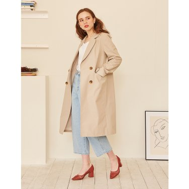 Jacket Trench Coat _ Beige