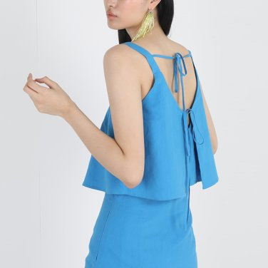 ILLUSION TOP BLUE