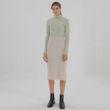 Long Sleeve Turtleneck - Lime