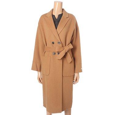 [여성]더블여밈 핸드메이드 코트(T198MCT232W)