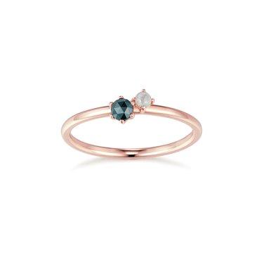 14K 다이아몬드 반지 M0590D