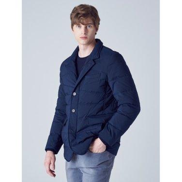 네이비 솔리드 구스 다운 재킷 (GC8938S03R)