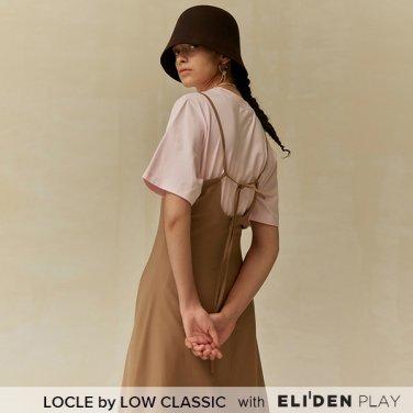 [로우클래식] 19 FALL LOCLE Sleeveless long dress_camel (Z3LCI6DR101)