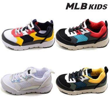 MLB키즈 공용 컬러 블러킹 러닝화 72SH22841