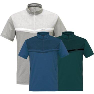 남성 PCM 냉감 반팔 집업 티셔츠 5218TZ217,218,219