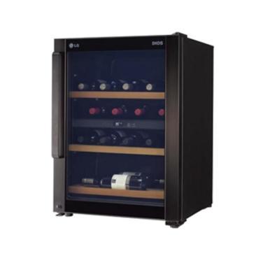 와인냉장고 W435B [인버터 컴프레서/저진동, 저소음/ 3중 Glass Door / 용량:43병]