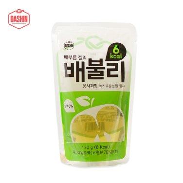 6kcal 배부른 젤리 배불리 풋사과 3박스 (170g*30팩) / 무료배송