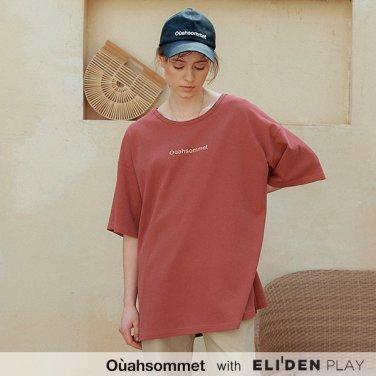[우아솜메] Ouahsommet Safari Big T-Shirt_WN (OBFTS013A)