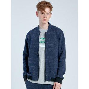 네이비 남성 멜란지 MA-1 재킷 (BO9839S01R)