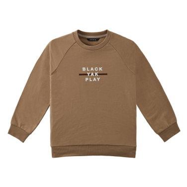 솔리드 컬러의 기본형 아동 맨투맨 티셔츠 [BK베인티셔츠]