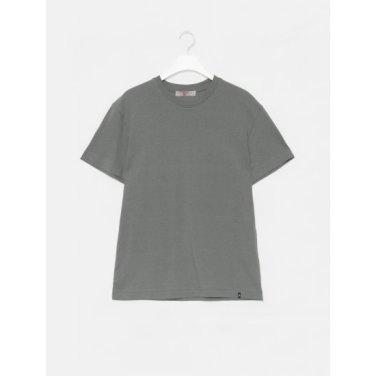남성 애쉬 솔리드 베이직 코튼 스탠다드 반소매 라운드넥 티셔츠 (429742LY14)