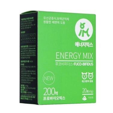 [갤럭시펫] 에너지믹스 후코비피더스 (위장질환완화/건강한 배변) 20포
