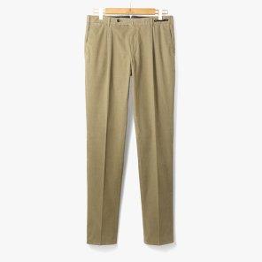[PT01] SLIM FIT 1 PENCE COTTON PANTS BEIGE/PT92M30005A24