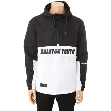 남성_레터링 포인트 아노락 후드 점퍼 티셔츠(HUC600)