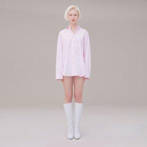 Stripe shirt 002 Pink