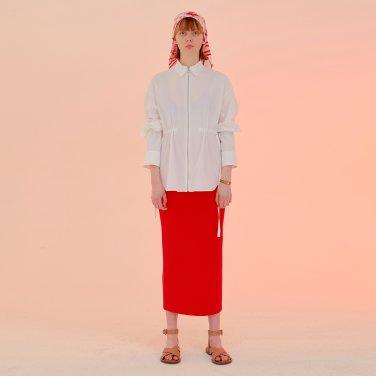 Wavy Pencil  Skirt_Red (JC20SSSK30RE)