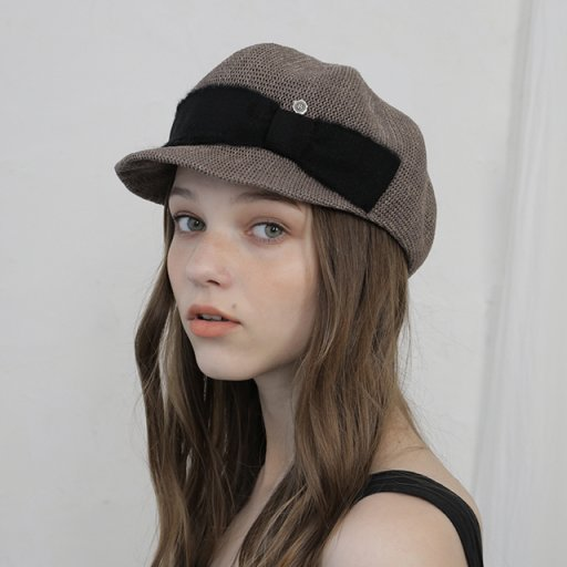 Formed casquette - Brown