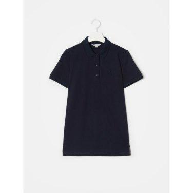 네이비 빅 바이크 자수 칼라 티셔츠 (BF9442C02R_)