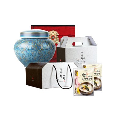 [에스피엔지] 알뜰형 컬러 떡국떡/조청 선물세트 모음전
