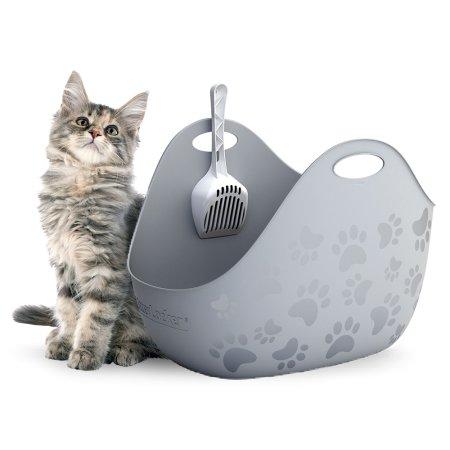 리터박스 고양이 화장실 집 위생 후드형 평판형 대형