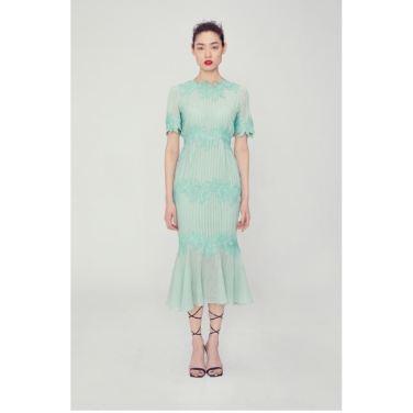 Flora lace dress(FA19MSOP001)