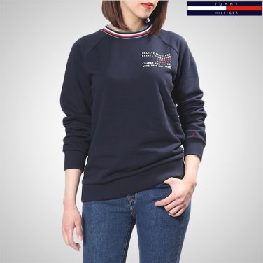 TFMT1KOE45A0(면혼방 스트라이프 맨투맨 티셔츠)