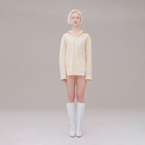 Stripe shirt 002 Yellow