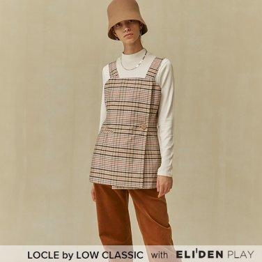 [로우클래식] 19 FALL LOCLE Wrap vest top_beige (Z3LCI6TP101)
