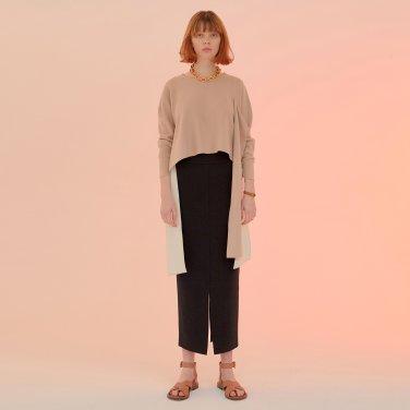 Lucca Dos Pencil Skirt_Black (JC20SSSK13BK)