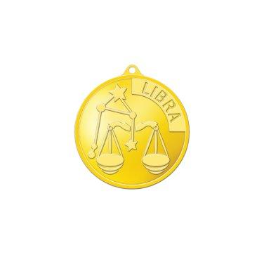 별자리메달-천칭자리 3.75g