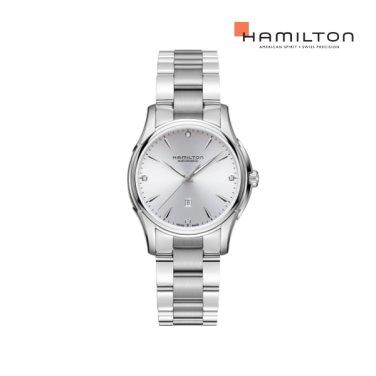 H32315191 재즈 뷰매틱 레이디 오토 다이아몬드 라벤더 메탈 여성 시계