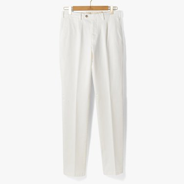 [TBRM]CLASSIC COTTON PANTS (WASHED) WHITE/TB92M30003A00