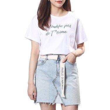 레터링포인트 티셔츠 (OW9ME470)