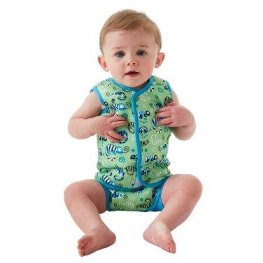 스플래시어바웃 아동수영복 고스플래시 수영조끼 베이비랩 그린게코EL