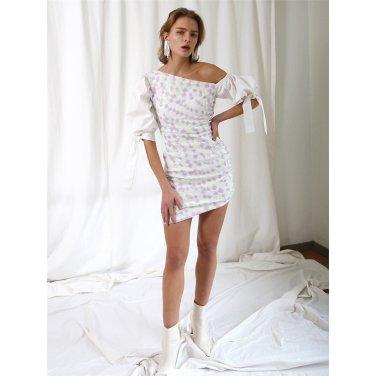 [더애쉴린] BEAUTY SEQUINED ONE SHOULDER DRESS