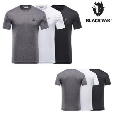 봄/여름 남여공용 3PACK 반팔라운드 티셔츠 M트리플라운드T2
