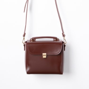 Daisy mini bag (redbrown) - D1005RB