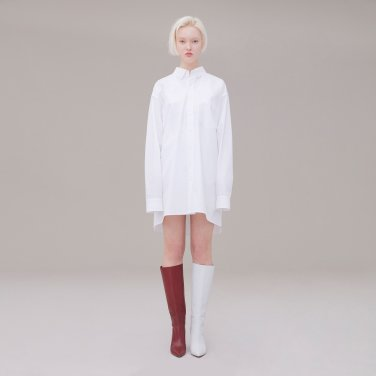 Long shirt 001 White