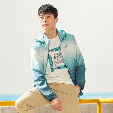 그라데이션 남성 여름 윈드 자켓 7F30605