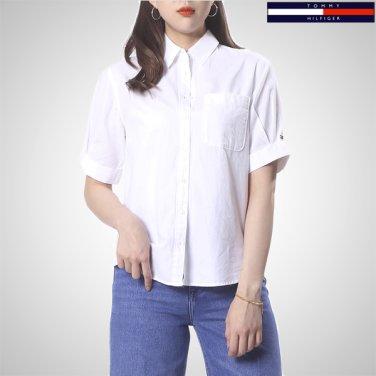 TFMT1HCE70A0(옥스포드 퍼프 소매 반소매 셔츠)
