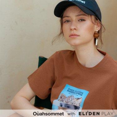[우아솜메] Ouahsommet Safari Collage T-Shirt_BR (OBFTS014A)