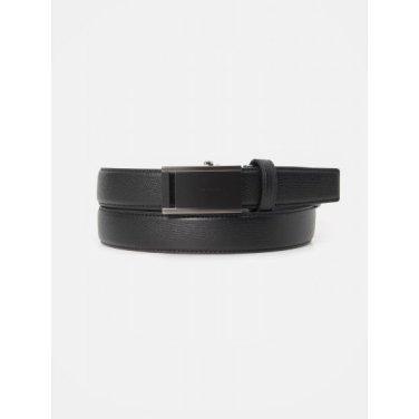 흑착 스카시 자동 벨트 - Black (BE0182T035)