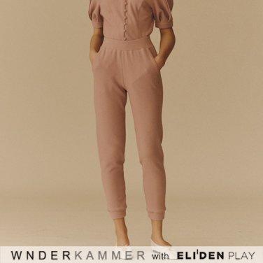 [분더캄머:WNDERKAMMER] Soft Jogger Trouser_Lavender (WK9F0-SJPT050)