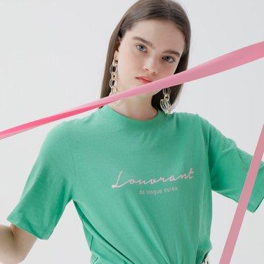 레터링 컬러 티셔츠(NW9ME902)