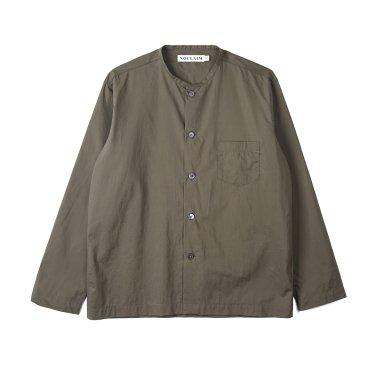 NOCLAIM Standard fit Oxford Shirts Khaki