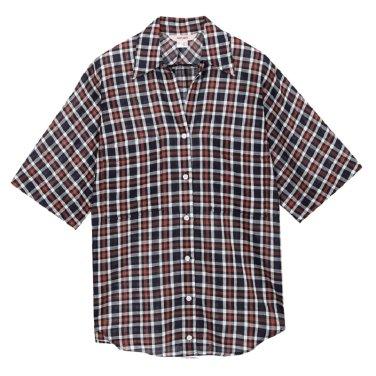 체크소매변형셔츠 JTWS52HC