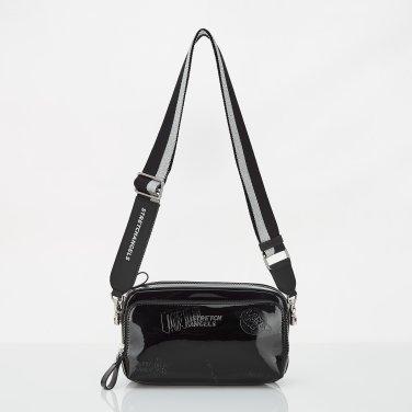 (SUMR02911X-BK) PANINI METAL LOGO SOLID BAG