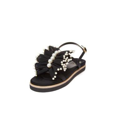 [슈콤마보니]Chouchou2 sandal(black)DG2AM19087BLK