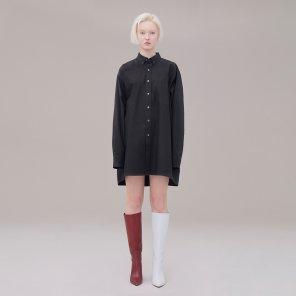 Long shirt 001 Black