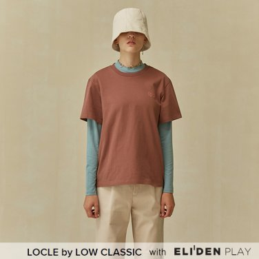 [로우클래식] 19 FALL LOCLE Logo t_brown (Z3LCI6TS102)